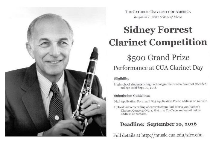 Sidney Forrest Clarinet competition