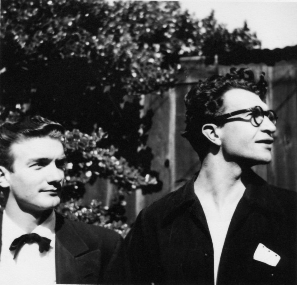 Bill Smith and Dave Brubeck in 1948