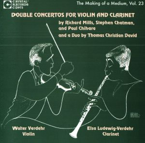 Christopher Nichols - Double Concertos for Violin and Clarinet