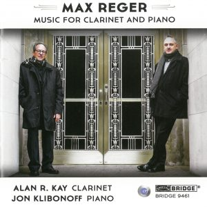 Christopher Nichols - Max Reger Music for Clarinet and Piano