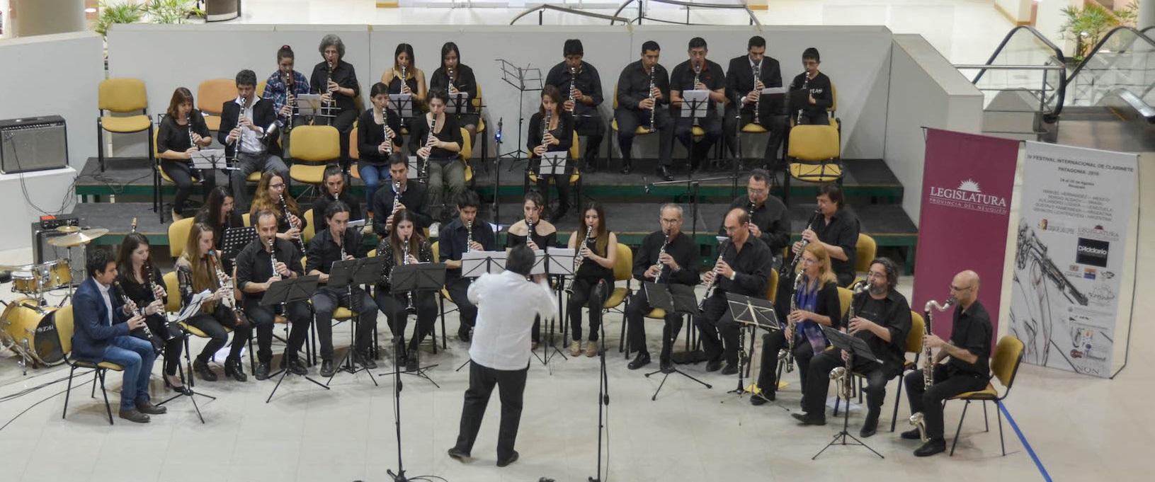 Picture 1- Patagonia Clarinet Festival