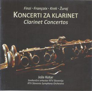 Christopher Nichols - Clarinet Concertos - Kotar