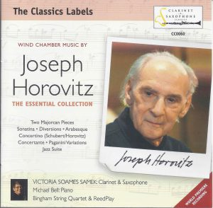 Christopher Nichols - J. Horovitz The Essential Collection