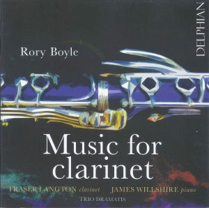 Christopher Nichols - Rory Boyle Music for Clarinet