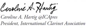 Caroline Hartig Signature