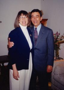 Rubin with his wife Peggy