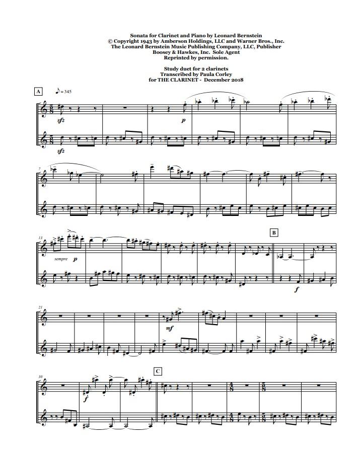 Bernstein page one