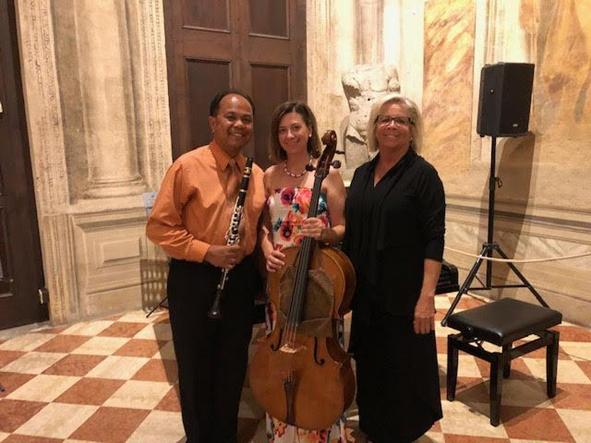 Drake Trio 2018 (Ashley Sidon, cello; Cynthia Giunta, piano) - Verona, Italy