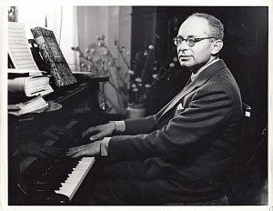 Mario Castelnuovo-Tedesco in Florence, 1932