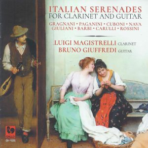 Christopher Nichols - Italian Serenades for Clarinet and Guitar