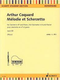 Coquard Melodie et Scherzetto