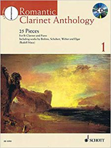 Mauz Romantic Clarinet Anthology