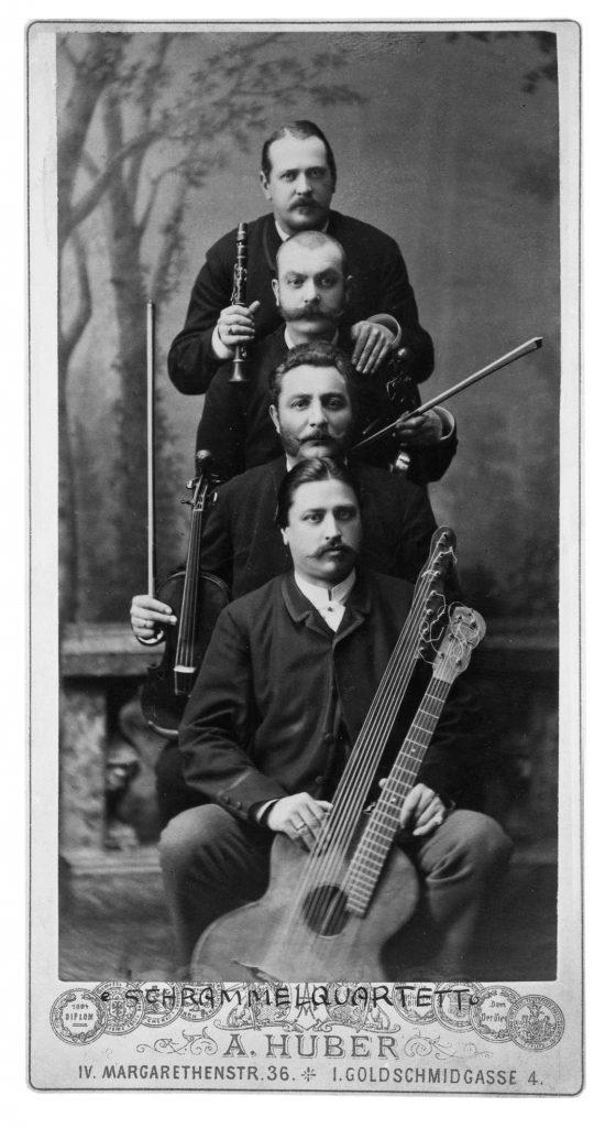 The Schrammel Quartet, Vienna, c.1890 (Austrian National Library)
