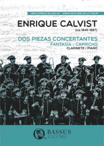 Gregory Barrett - Calvist Dos piezas concertantes