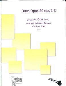 Gregory Barrett - Offenbach Duos