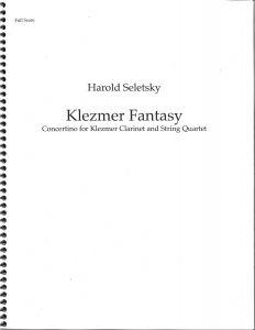 Gregory Barrett - Seletsky Klezmer Fantasy