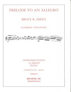 Gregory Barrett - Smith Prelude to an Allegro