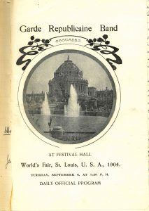 A St. Louis World's Fair program (1904)