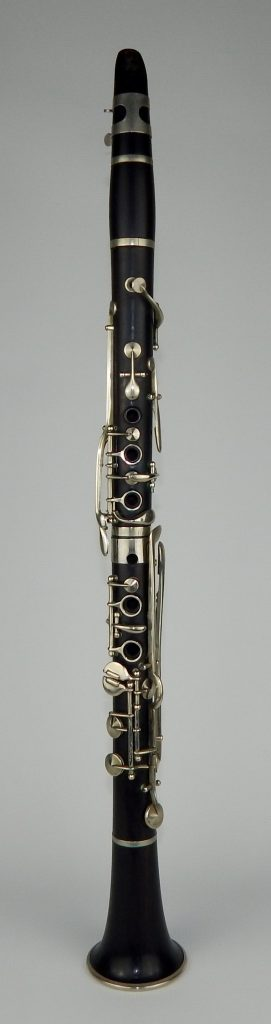 Fig. 3. R. Cubbitt clarinet