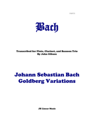 Gregory Barrett - Bach Goldberg