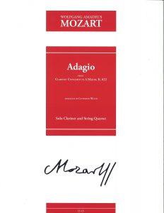 Greg Barrett - Mozart Adagio arr. Catherine Wood